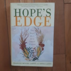 Hope's Edge by Frances Moore Lappe. Hardcover